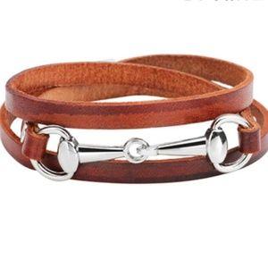Bracelet- New- Equestrian Snaffle Horse Bracelet